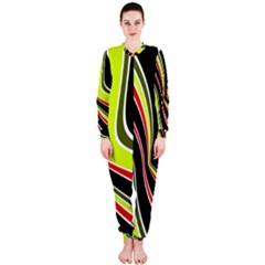 Colors of 70 s OnePiece Jumpsuit (Ladies)