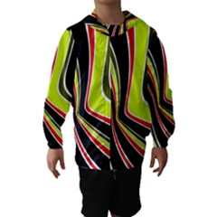 Colors of 70 s Hooded Wind Breaker (Kids)