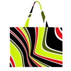 Colors of 70 s Large Tote Bag