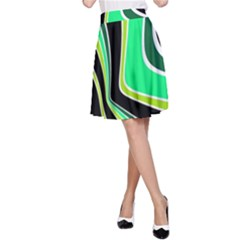 Colors of 70 s A-Line Skirt
