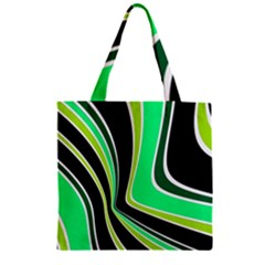 Colors of 70 s Zipper Grocery Tote Bag
