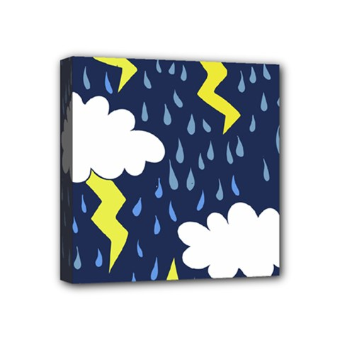Thunderstorms Mini Canvas 4  X 4
