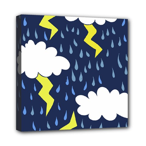 Thunderstorms Mini Canvas 8  X 8