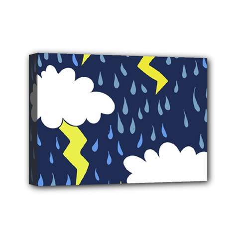 Thunderstorms Mini Canvas 7  x 5