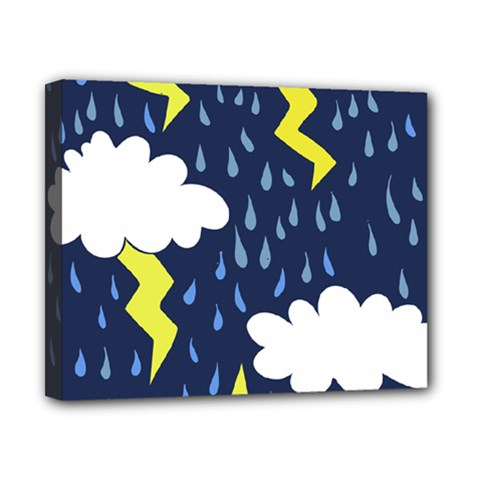 Thunderstorms Canvas 10  x 8