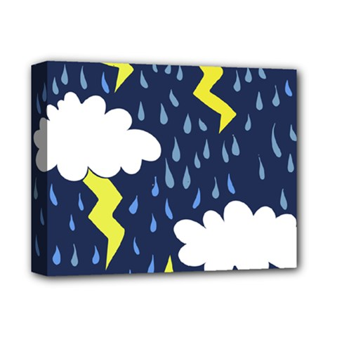 Thunderstorms Deluxe Canvas 14  x 11