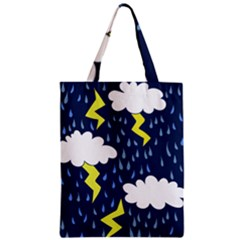 Thunderstorms Zipper Classic Tote Bag