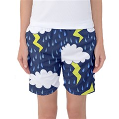 Thunderstorms Women s Basketball Shorts
