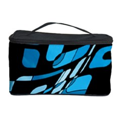 Blue abstraction Cosmetic Storage Case