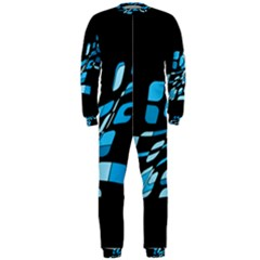 Blue abstraction OnePiece Jumpsuit (Men)