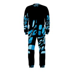 Blue abstraction OnePiece Jumpsuit (Kids)