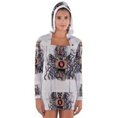 Guillotine Heart Women s Long Sleeve Hooded T Shirt