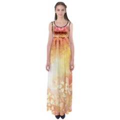 Tie Dye7 Empire Waist Maxi Dress