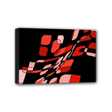 Orange abstraction Mini Canvas 6  x 4