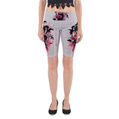 This Is Fine     Yoga Cropped Leggings