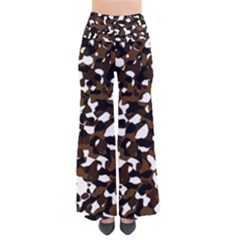 Black Brown And White camo streaks Pants