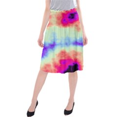 Calm Of The Storm Midi Beach Skirt