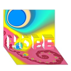 Distinction HOPE 3D Greeting Card (7x5)