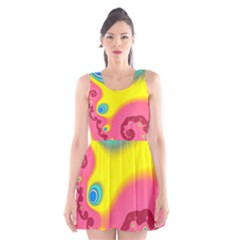 Distinction Scoop Neck Skater Dress