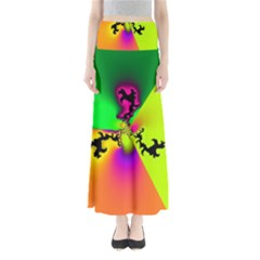 Creation Of Color Maxi Skirts