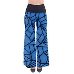 Blue Fracture Women s Chic Palazzo Pants