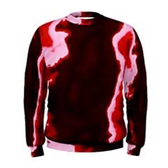 crimson sky Men s Sweatshirt