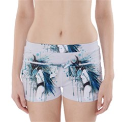 Caged Bird Boyleg Bikini Wrap Bottoms