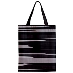 Gray Camouflage Zipper Classic Tote Bag