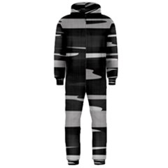 Gray Camouflage Hooded Jumpsuit (Men)