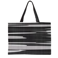 Gray Camouflage Large Tote Bag