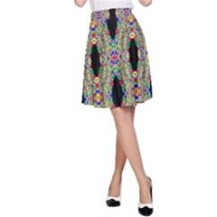 Shape A Line Skirt