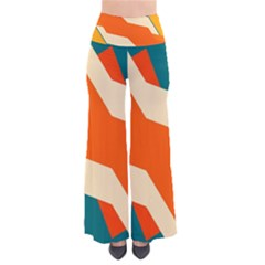 Shapes in retro colors                                                                 Women s Chic Palazzo Pants