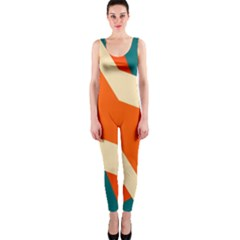 Shapes in retro colors                                                                                  OnePiece Catsuit