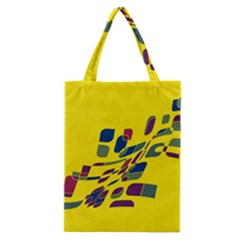Yellow abstraction Classic Tote Bag