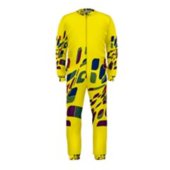 Yellow abstraction OnePiece Jumpsuit (Kids)