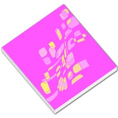 Pink Abstraction Small Memo Pads