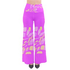 Pink abstraction Pants