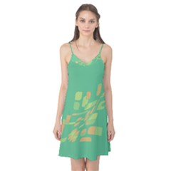 Green abastraction Camis Nightgown