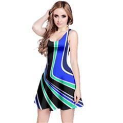 Colors of 70 s Reversible Sleeveless Dress