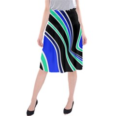 Colors Of 70 s Midi Beach Skirt