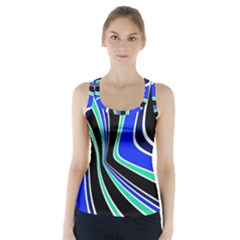 Colors Of 70 s Racer Back Sports Top