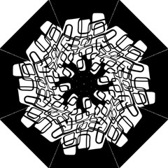 White abstraction Folding Umbrellas
