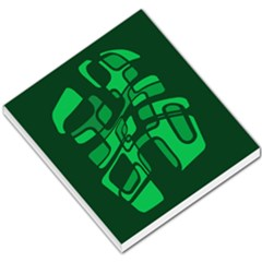 Green Abstraction Small Memo Pads
