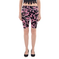 Kitty Camo Yoga Cropped Leggings