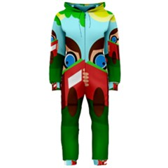 Brainiac Hooded Jumpsuit (Ladies)