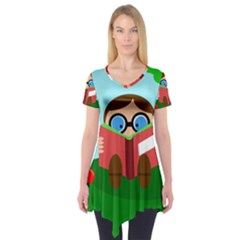 Brainiac Short Sleeve Tunic