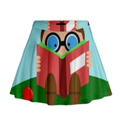 Brainiac Mini Flare Skirt