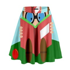 Brainiac High Waist Skirt