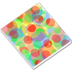 Colorful circles Small Memo Pads