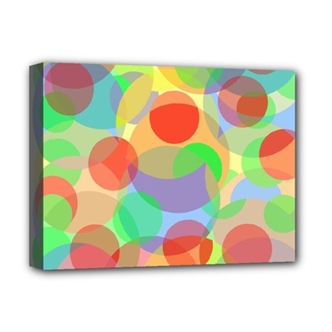 Colorful circles Deluxe Canvas 16  x 12